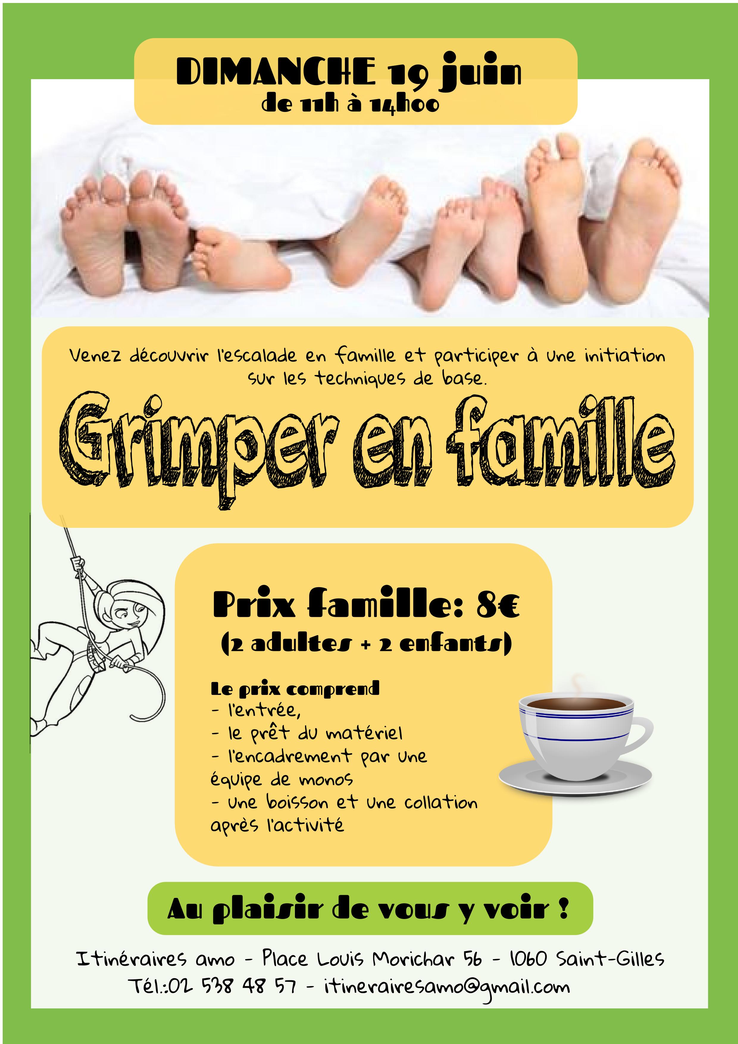 Grimper en famille juin 2016